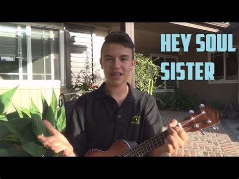 tutorial ukulele hey soul sister hey soul sister easy ukulele tutorial phim video clip