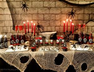 halloween party food table halloween party for kids say it with cake