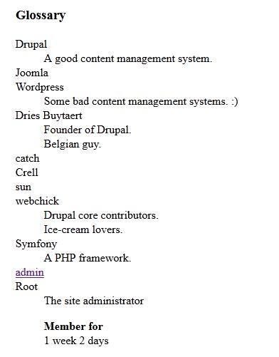 drupal themes definition add a description list html twig template ex definition