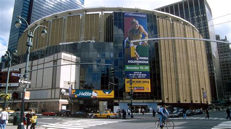 square garden new jersey s prudential center signs booking marketing