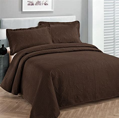solid coverlets fancy collection 3pc luxury bedspread coverlet embossed