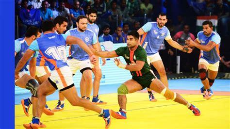 india vs pakistan live how to the kabaddi masters