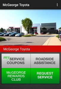 Mcgeorge Toyota Used Check Out Our App Mcgeorge Toyota