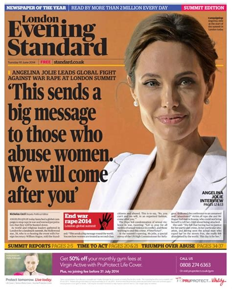 Magazine News Of The Evening by Evening Standard Readership Circulation Rate Card And Facts