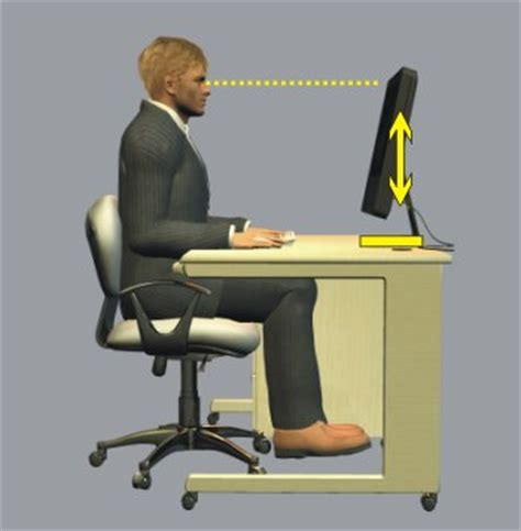 Proper Computer Desk Height Safe Office Practice