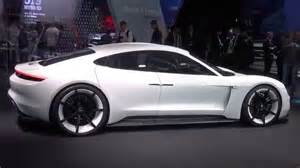 Electric Vehicles 2018 4k Porsche Mission E 600 Hp All Electric Sports Car Of