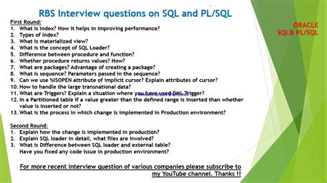 mysql tutorial interview questions pl sql interview questions and answers code queryanswer com