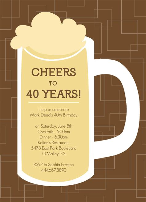 invitations for 40th birthday quotes quotesgram