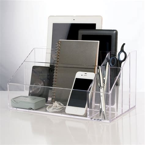 top of desk storage desktop organizer stori