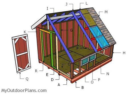 greenhouse shed roof plans myoutdoorplans