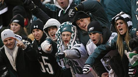 philadelphia eagles fan the 9 most intimidating fan bases for visiting fans and