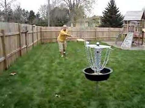 the hardware disc golf basket