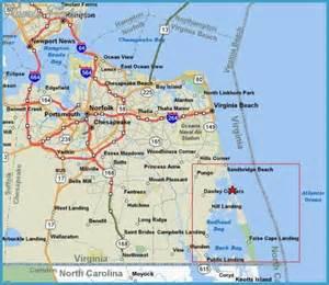 Virginia Beach Map by Virginia Beach Map Related Keywords Amp Suggestions