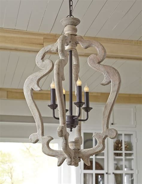 Chandelier Astounding White Distressed Chandelier White Wooden Chandelier