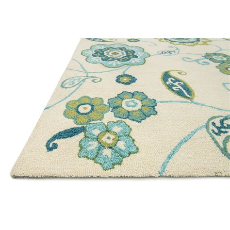 where can i buy aqua rug loloi rugs summerton ivory aqua rug reviews wayfair