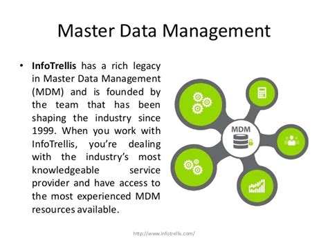 master data management infotrellis master data management solutions