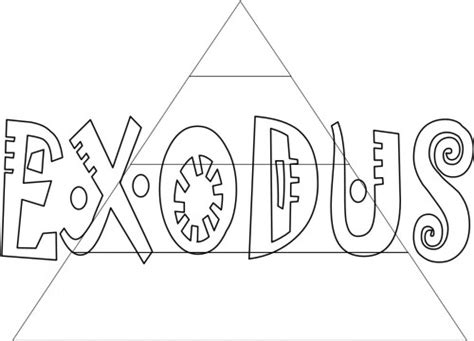 printable coloring pages exodus kids bible worksheets free printable exodus books of the