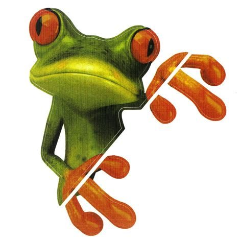 Coole Handy Sticker by Retail New Funny Car Stickers Design 3d Peep Frog Peep