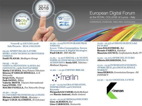 futura sat 15 forum europeo digitale 2 futura in diretta oggi su
