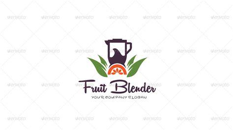 Fruit Blender Logo Template By Kazierfan Graphicriver Blender Logo Template
