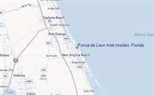 ponce de inlet inside florida tide station
