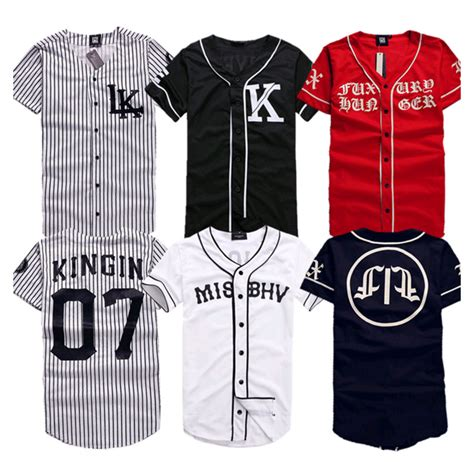 T Shirt Casual Thunderstar 17 jersey baseball shirts reviews shopping jersey