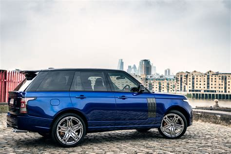 kahn range rover range rover 600 le bali blue luxury edition by kahn design