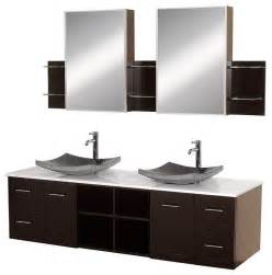 bathroom vessel vanity cabinets vessel sink vanities contemporary bathroom vanities