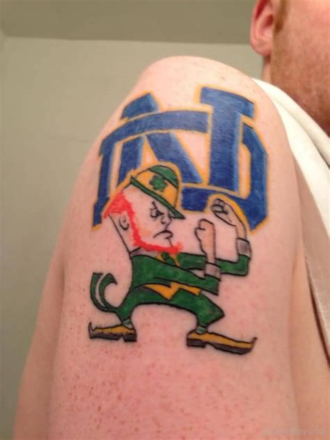 notre dame tattoo designs leprechaun tattoos designs pictures page 2