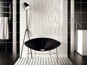 Black And White Tiled Bathrooms Black And White Tile Bathroom 2017 Grasscloth Wallpaper