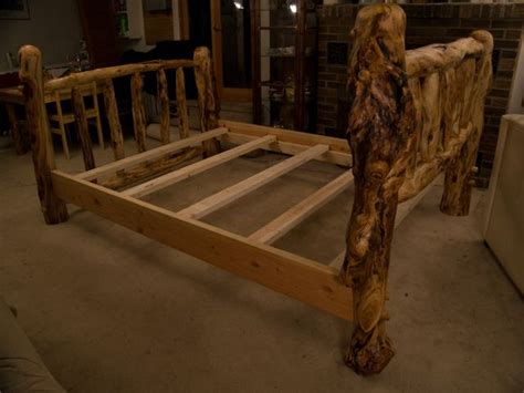 Log Headboard And Footboard by 17 Best Images About Beds On Log Furniture