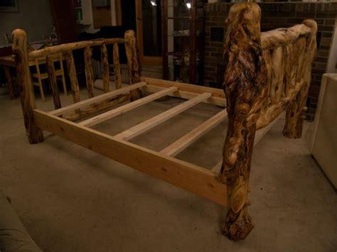 20 best images about log bed frames on