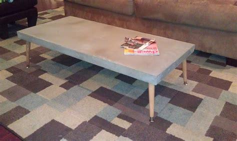 diy concrete table dave and davis