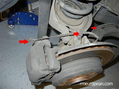 bmw 330ci brake pads bmw e46 rear brake pad and rotor replacement