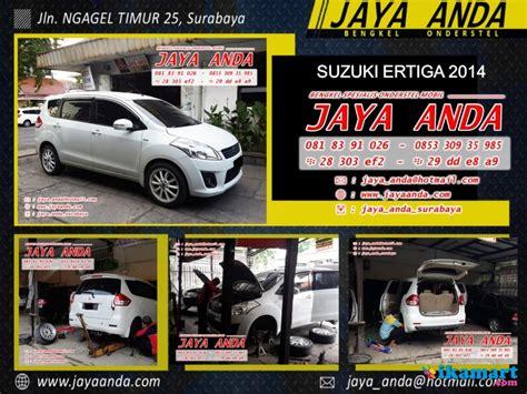 Shockbreaker Mobil Suzuki Ertiga bengkel onderstel suzuki di surabaya jaya anda