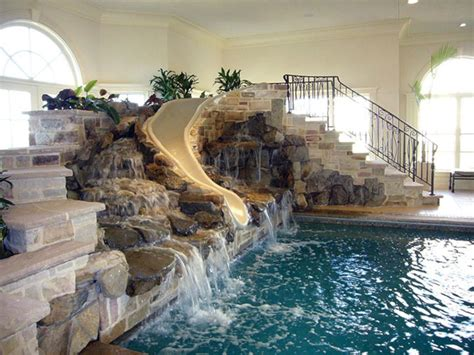 indoor pool in house 24 awesome home indoor pool design with slide to make your