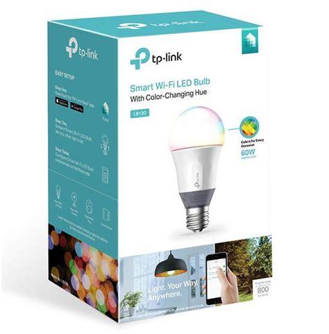 tp link smart led light tp link lb130 smart wi fi led colour changing lb130