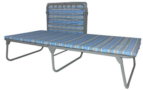 folding cot bed xb 6 wide folding cot w mat