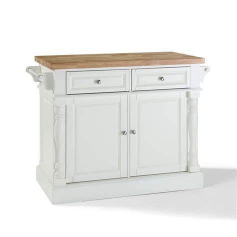 Kitchen Cart With Butcher Block Top White by Kitchen Islands Carts Large Stainless Steel Portable