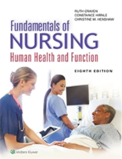 fundamentals of nursing human health and function 8th