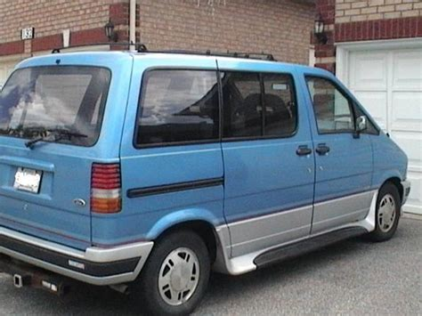 how make cars 1993 ford aerostar windshield wipe control gongster s 1993 ford aerostar in markham on