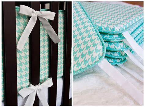 lella boutique how to make a crib bumper with piping