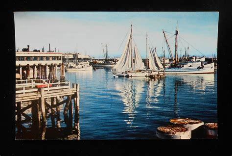 monterey boats ebay 1950s monterey harbor pleasure and fishing boats monterey