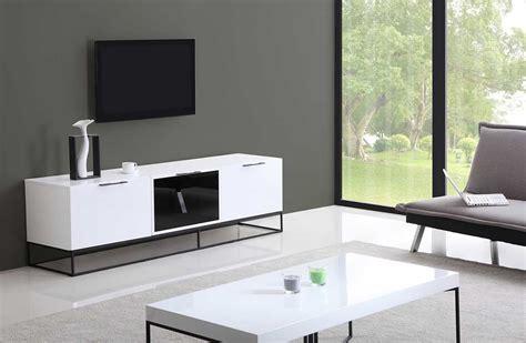 modern white modern white black tv stand bm35 tv stands