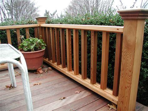railings and banisters ideas simple deck railing designs jbeedesigns outdoor deck