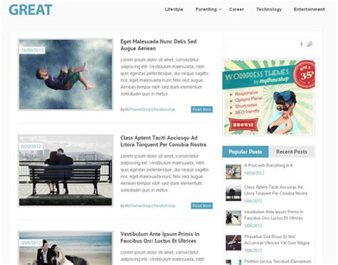 wordpress themes zonder blog 35 best free responsive wordpress themes of 2012 designbeep