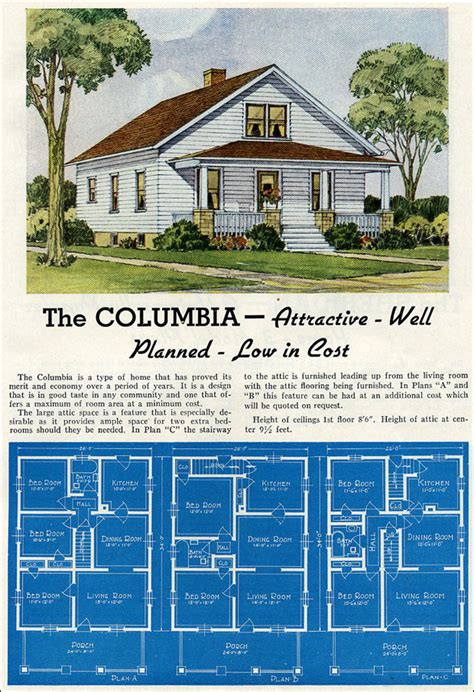 Wilson Homes Floor Plans 1930s craftsman bungalow house plans house design plans