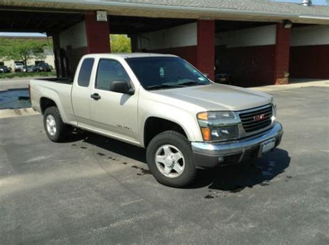 auto air conditioning service 2004 gmc canyon lane departure warning purchase used 2004 gmc canyon sle extended cab 4x4 in buffalo new york united states for us