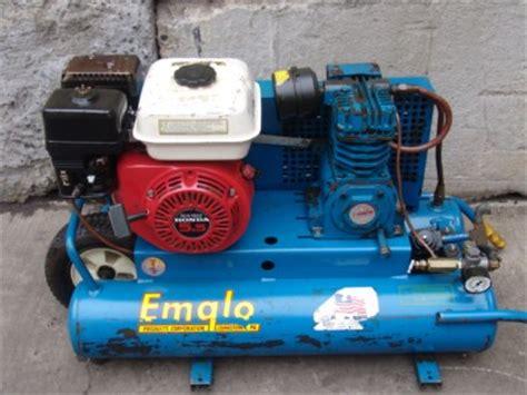 emglo 5 5 honda motor gas air compressor unit ebay