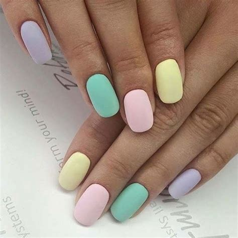 Nail With Pastel Colors best 25 pastel nails ideas on easter nails
